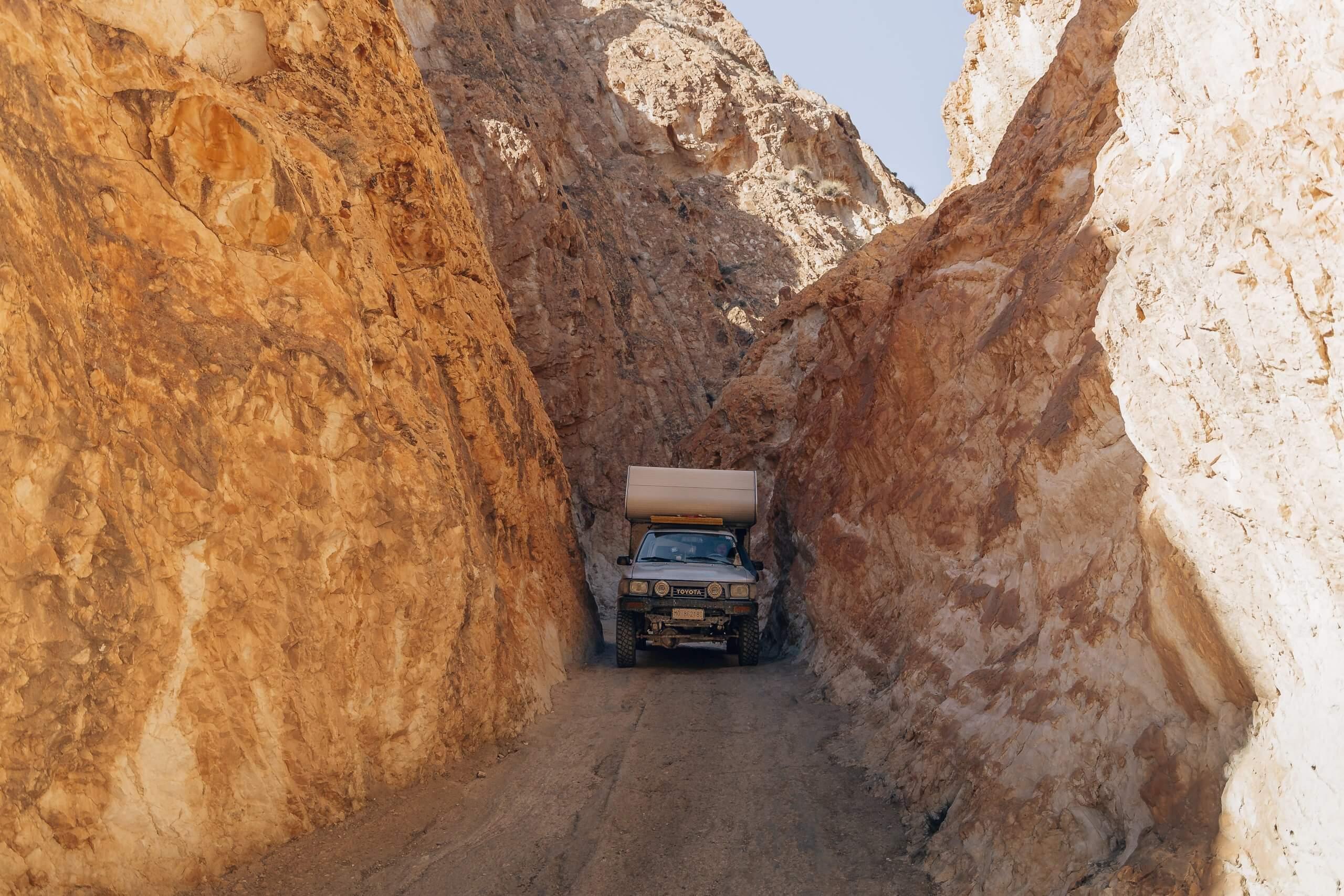 in der Gorge de Oued Hayfa