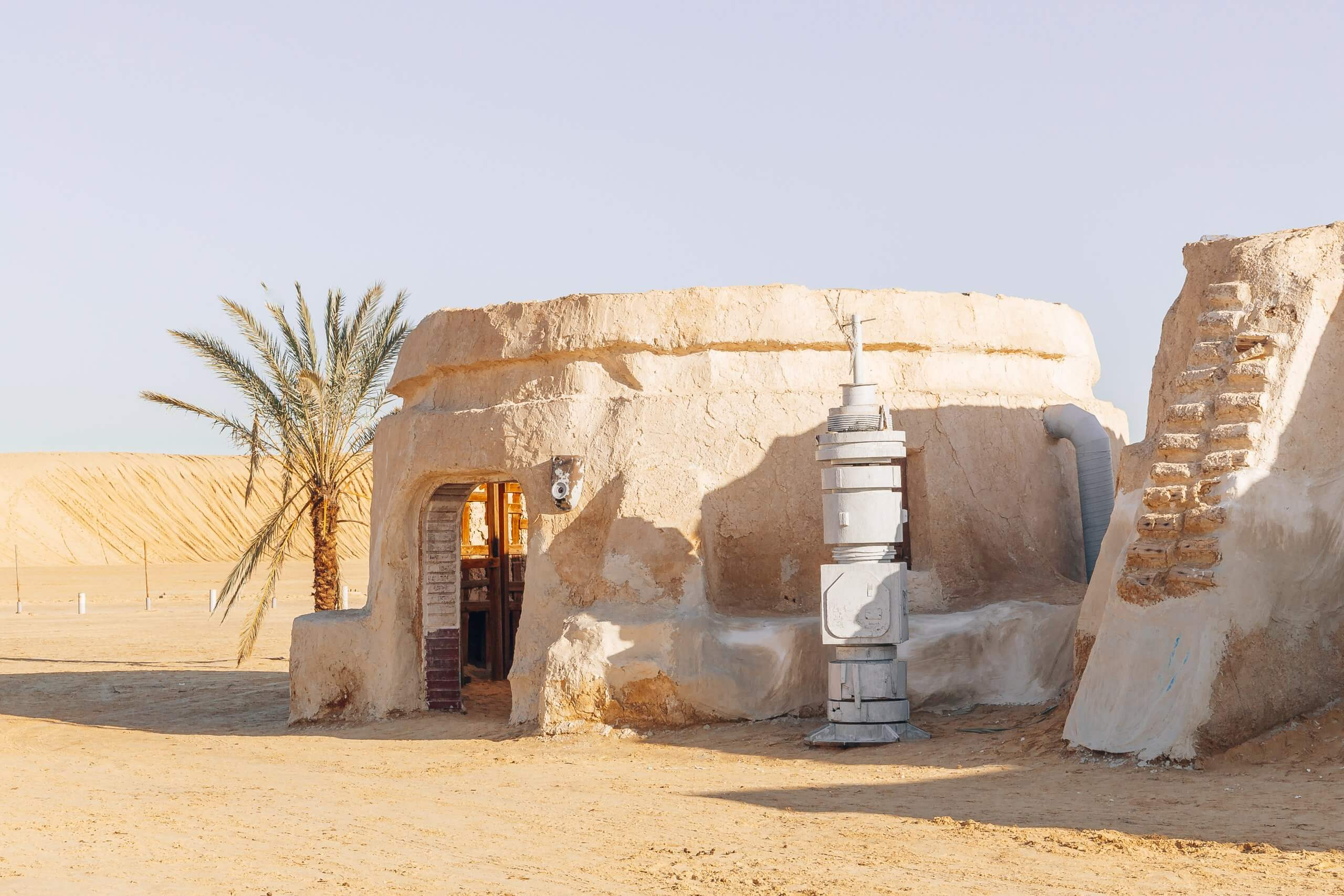 Mos Espa - die Stadt aus Star Wars