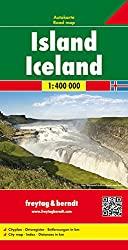 Island Straßenkarte