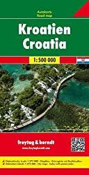 Kroatien Straßenkarte