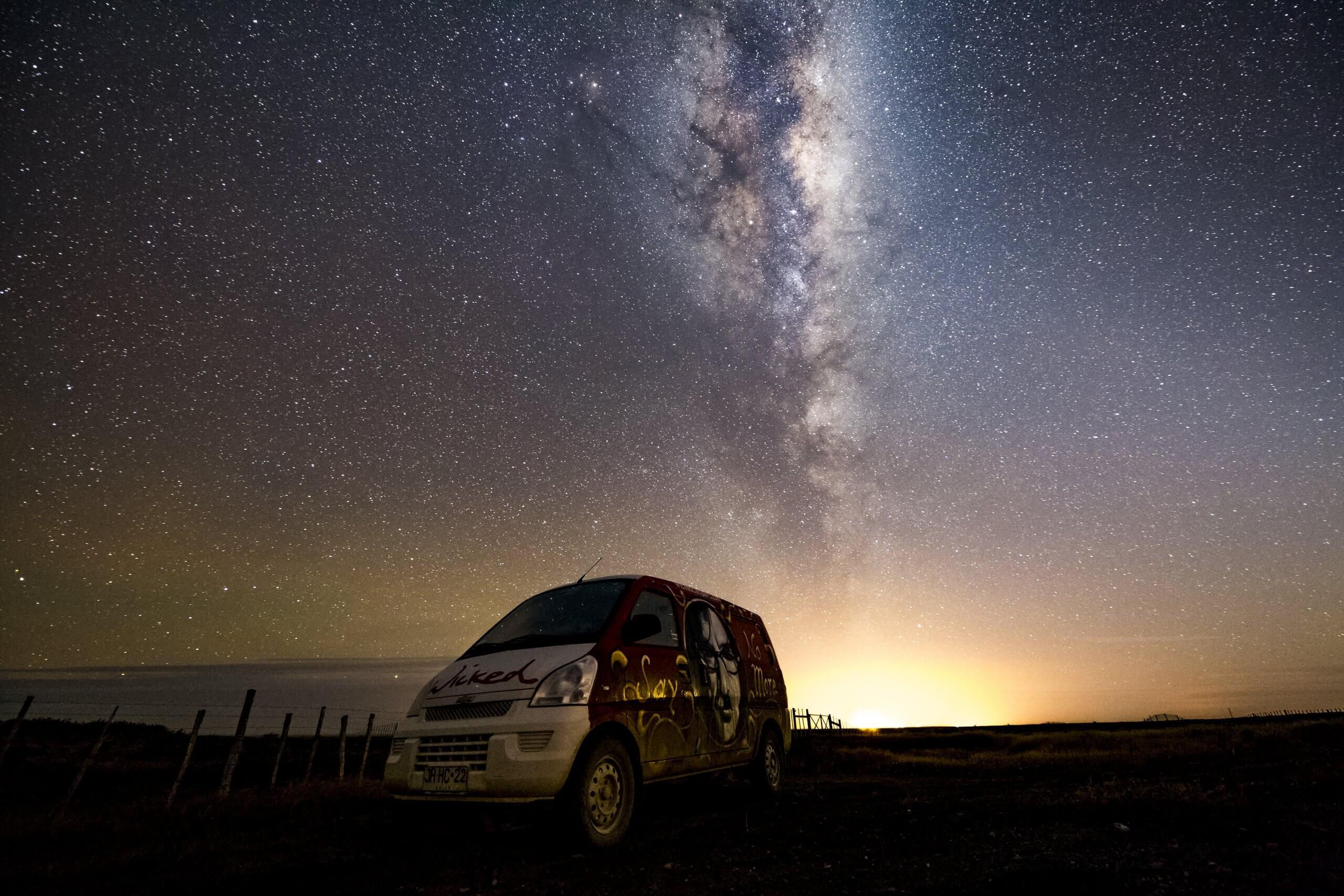 Milchstraße in Patagonien