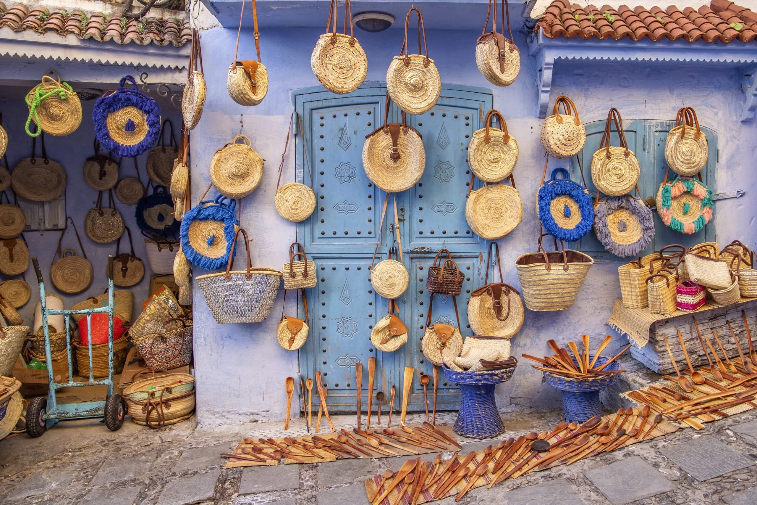 Verkaufsstand in Chefchaouen