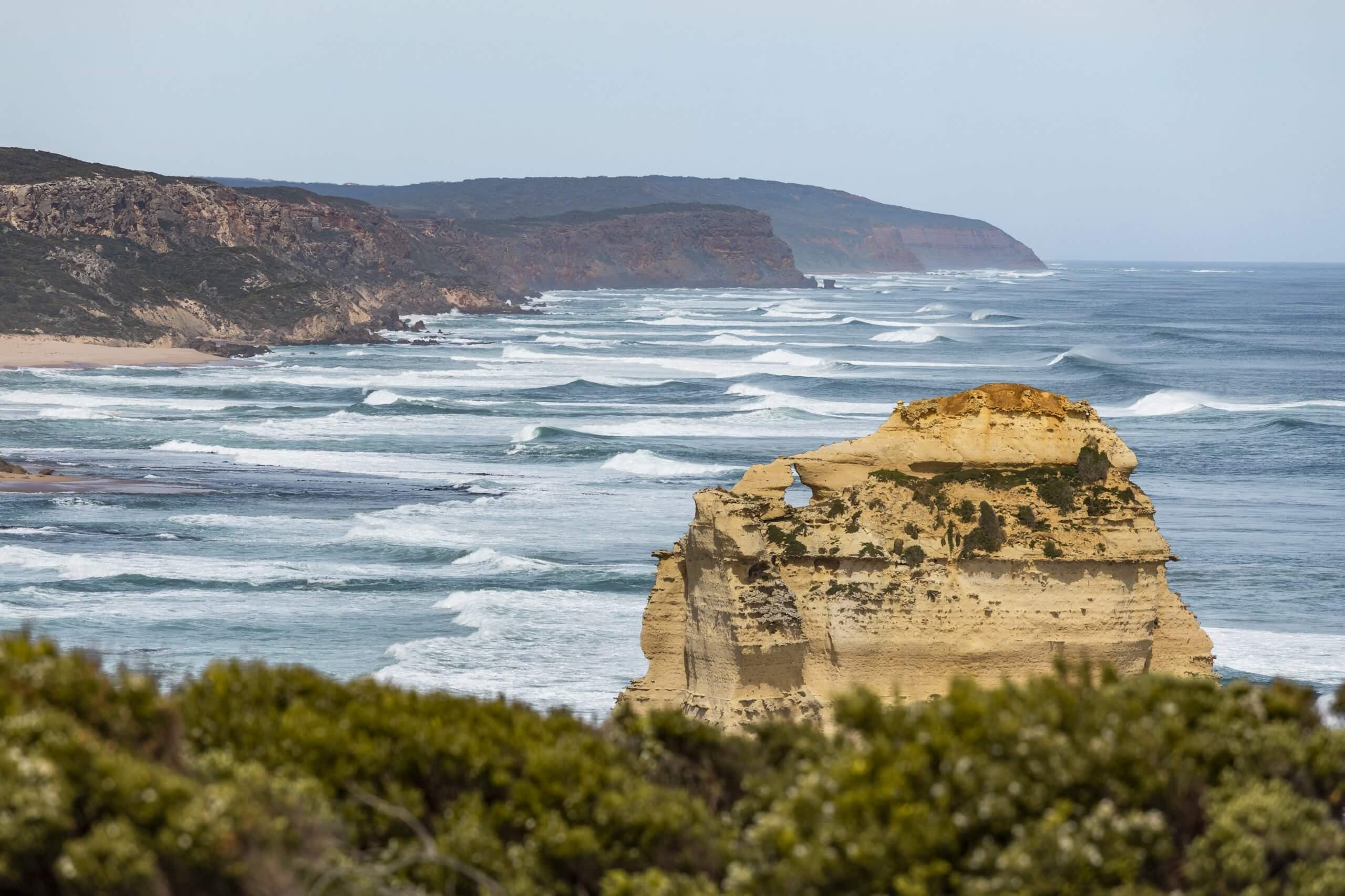 die wilde Küste der Great Ocean Road
