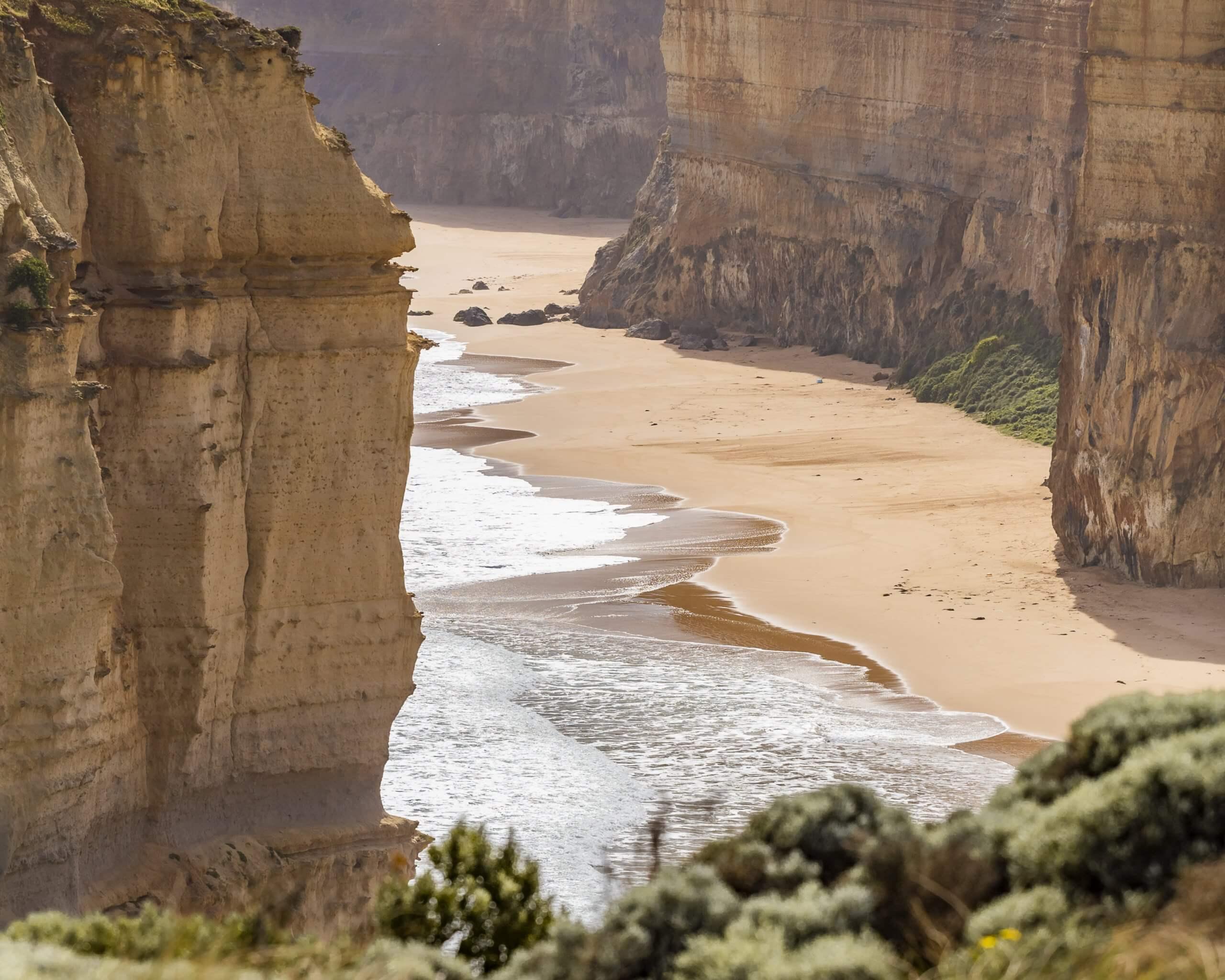 Strand an den Twelve Apostles