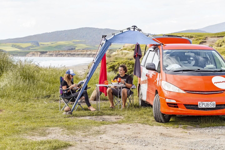 Wildcamping in Neuseeland
