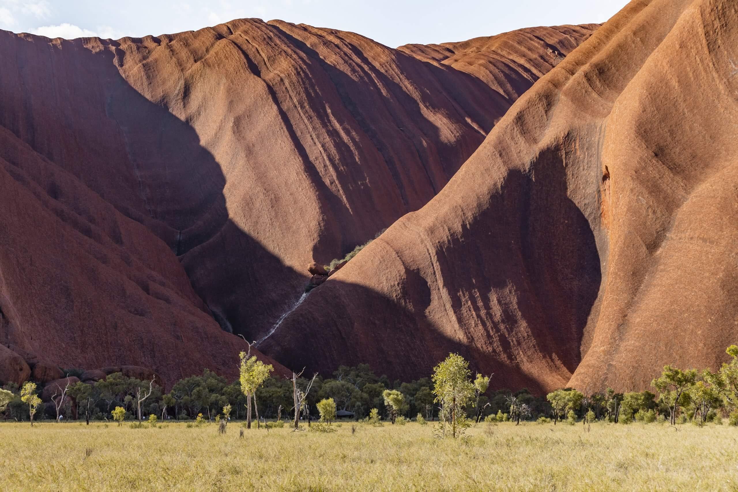 vor dem Uluru