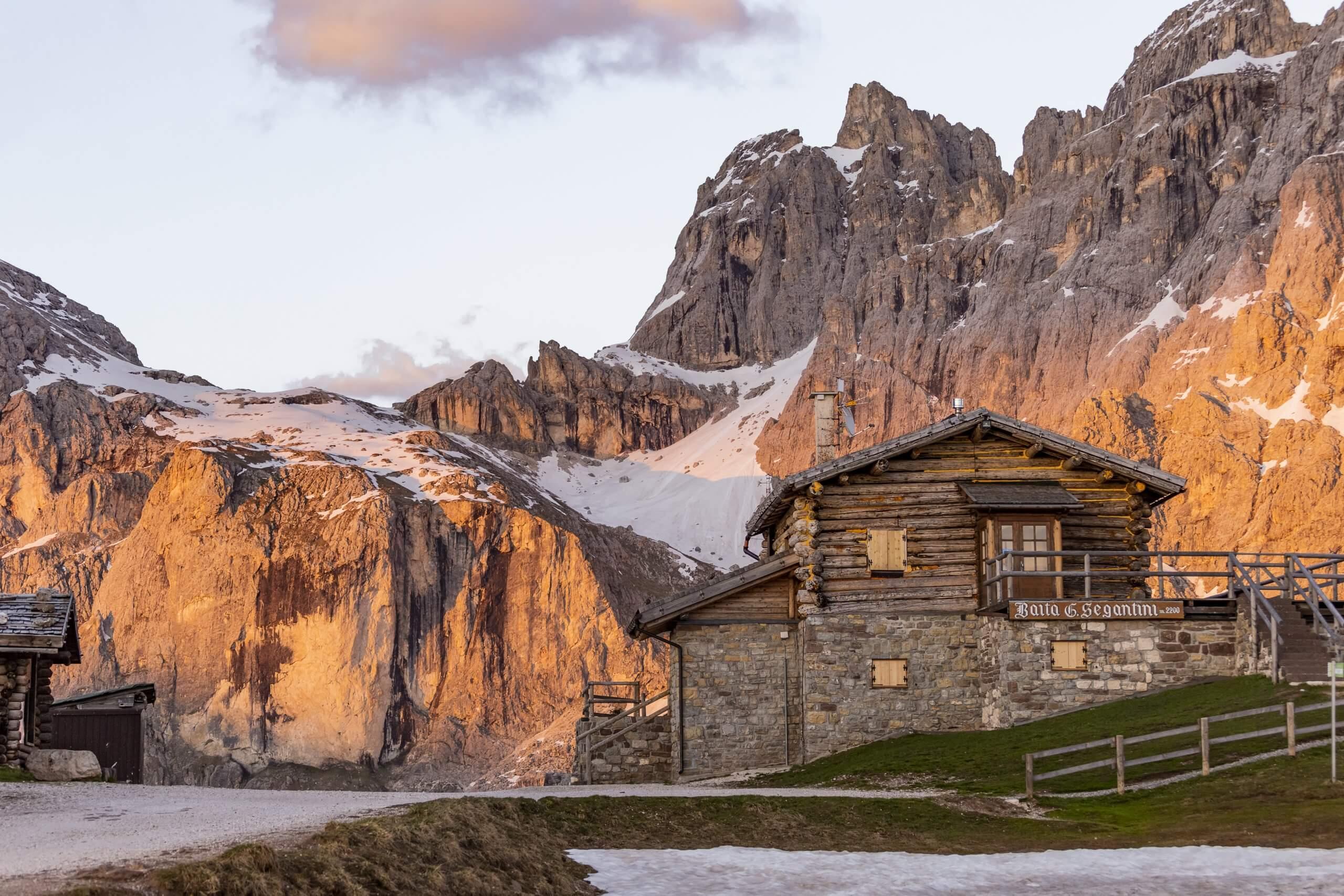 Baita Segantini - die meistfotografierte Alm im Trentino