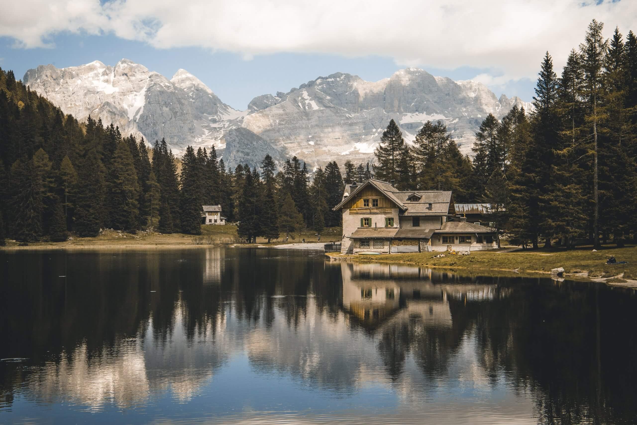 perfekt an heißen Sommertagen: Lago Nambino