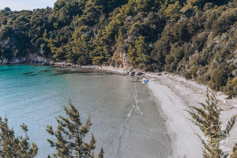 einer der schönsten Strände rund um Parga: der Scala Beach