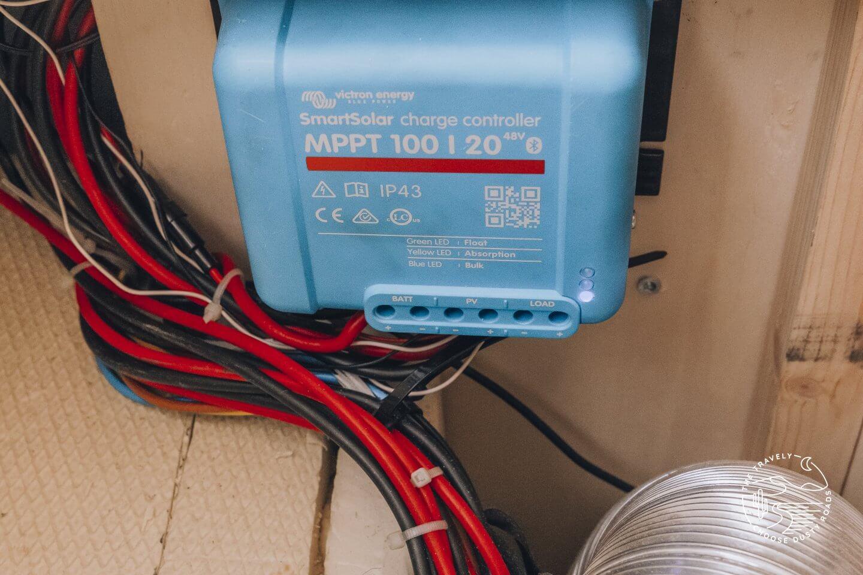 Victron MPPT 100/20 Solarladegerät
