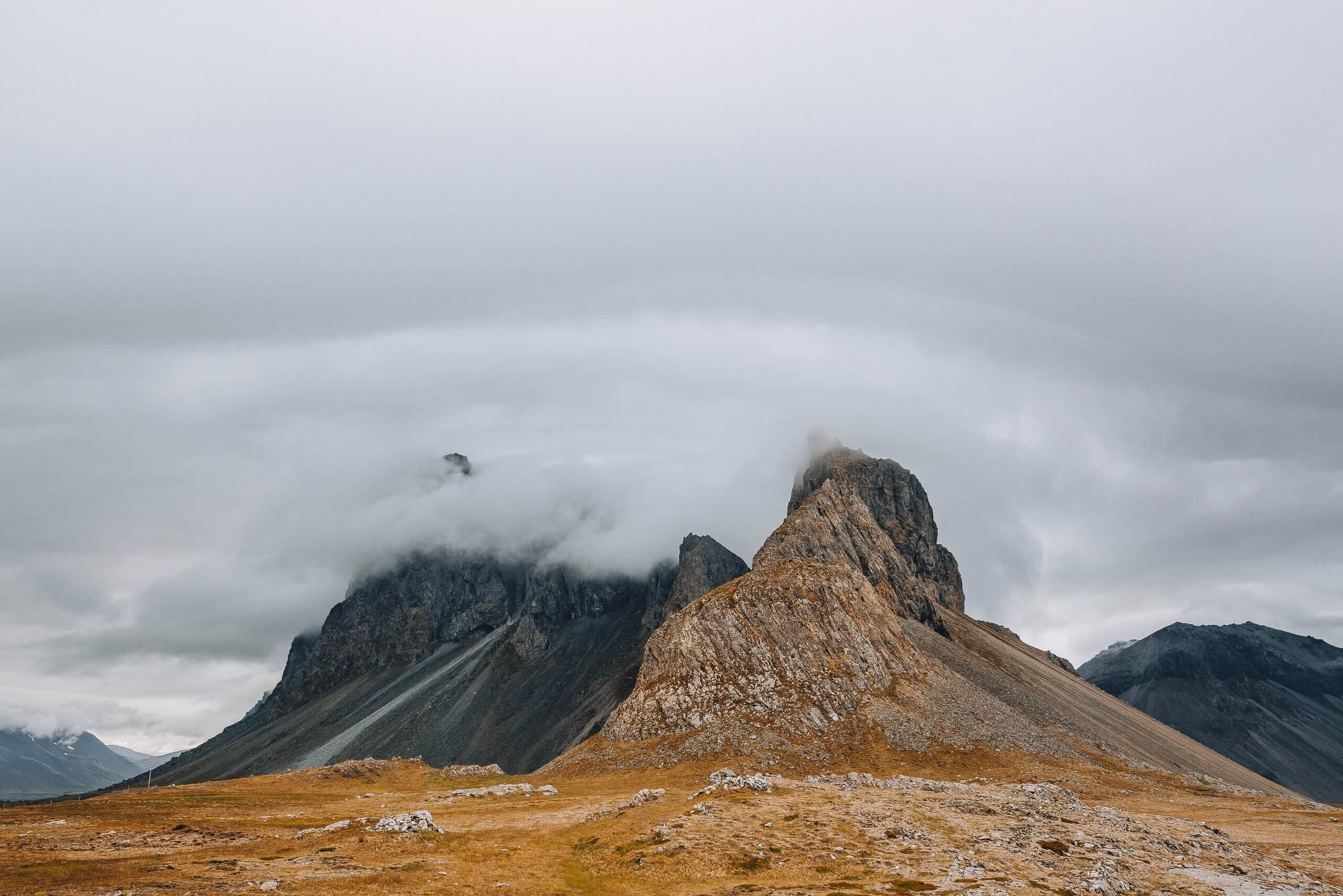 stürmische Tage auf Island