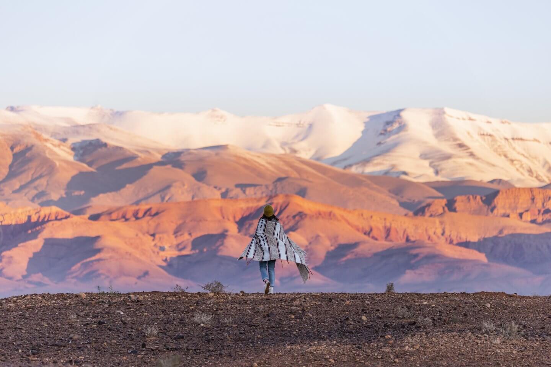 Marokko's schöne Bergwelt: das Atlas Gebirge