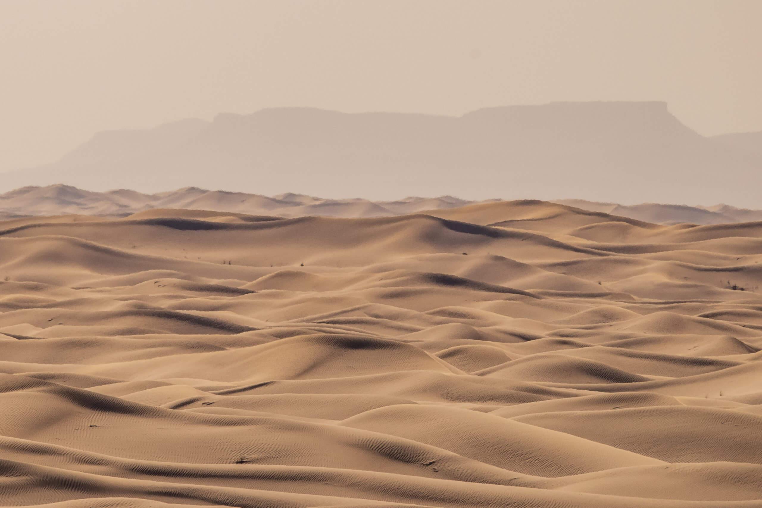 das endlose Sandmeer Marokko's