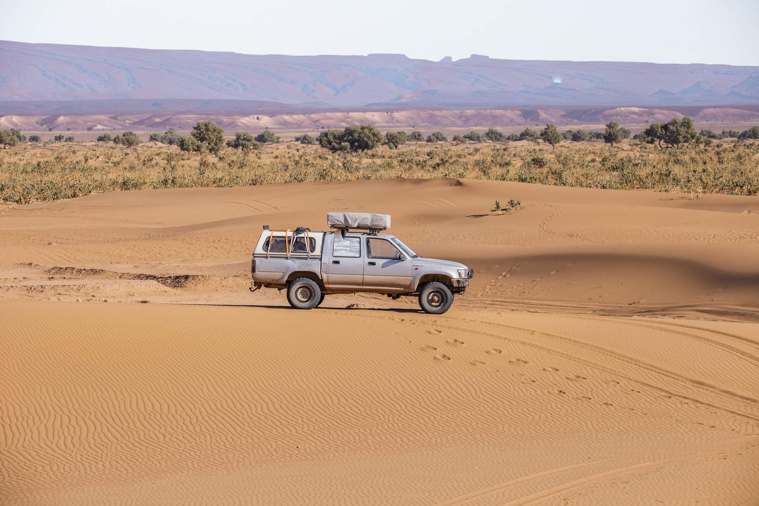 im Sandmeer des Erg Chigaga