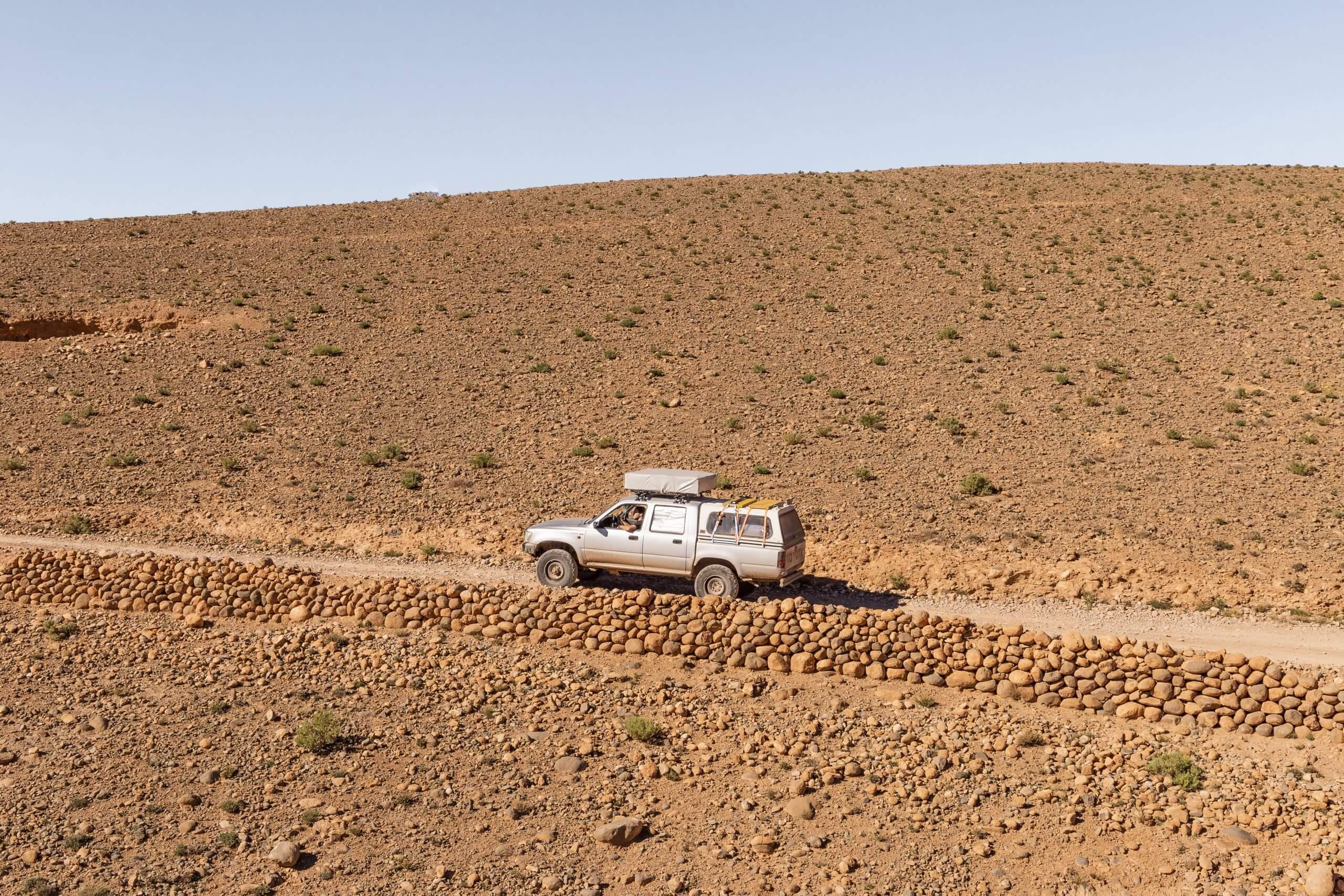 auf dem Weg von Boumalne nach Bou Thrarar