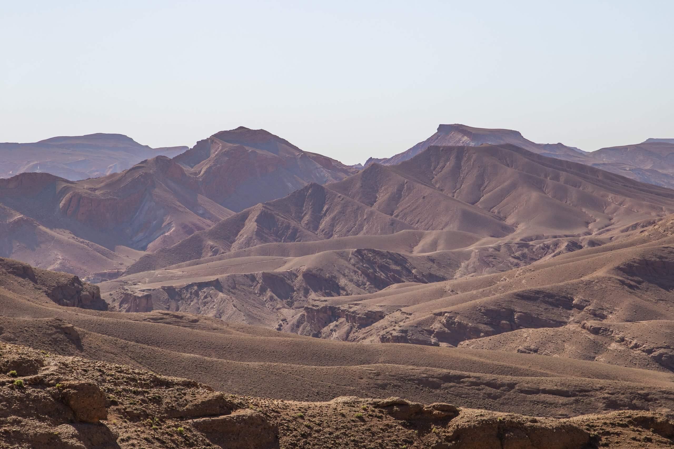 die wunderschöne Bergwelt des Hohen Atlas