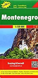 Montenegro Straßenkarte