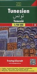Tunesien Straßenkarte