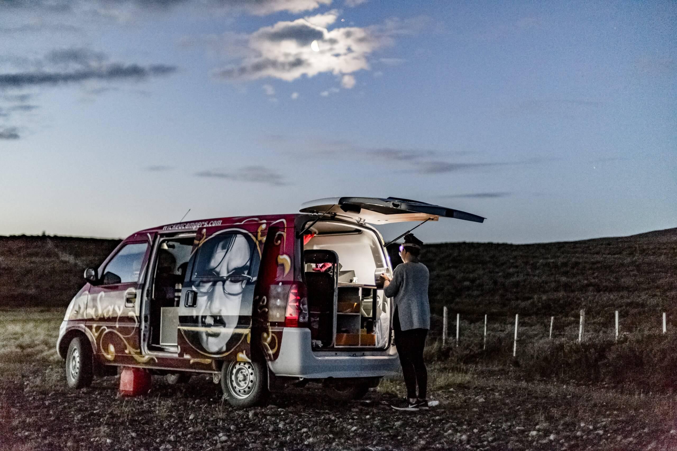camping in Patagonien