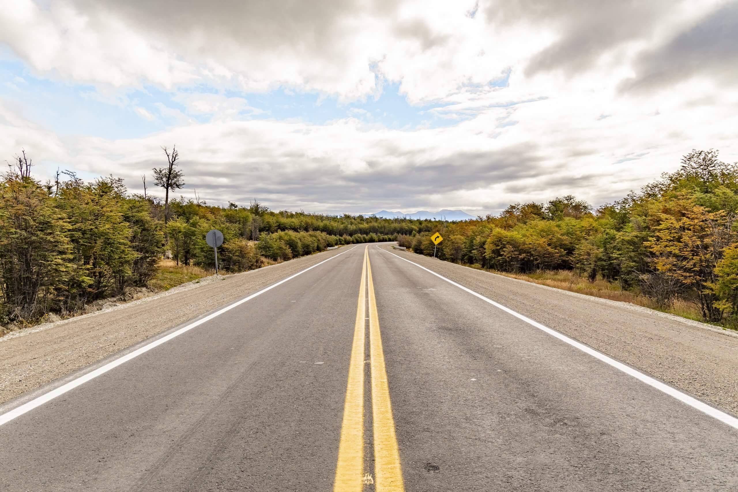 Straße ans buchstäbliche Ende der Welt
