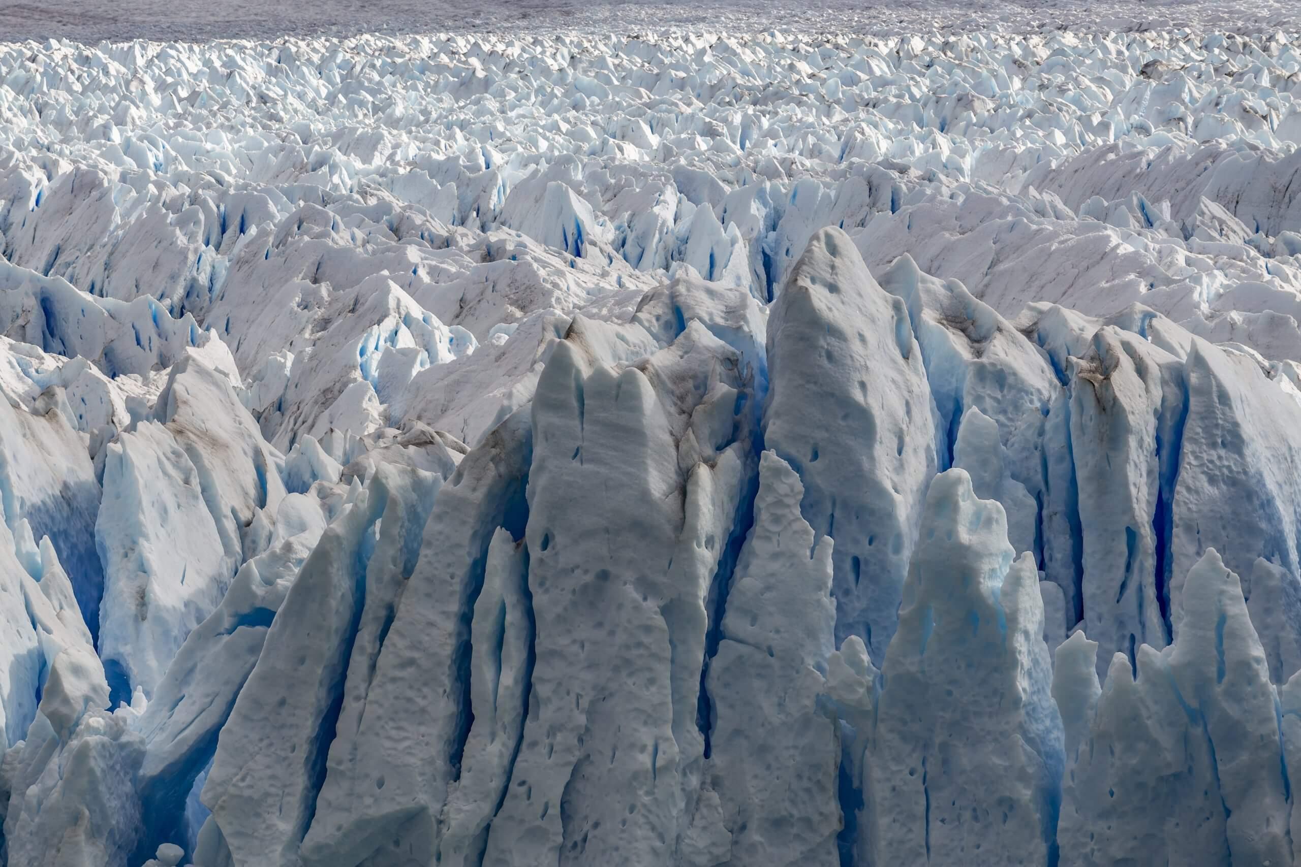 das endlose Eis des Perito Moreno Gletschers