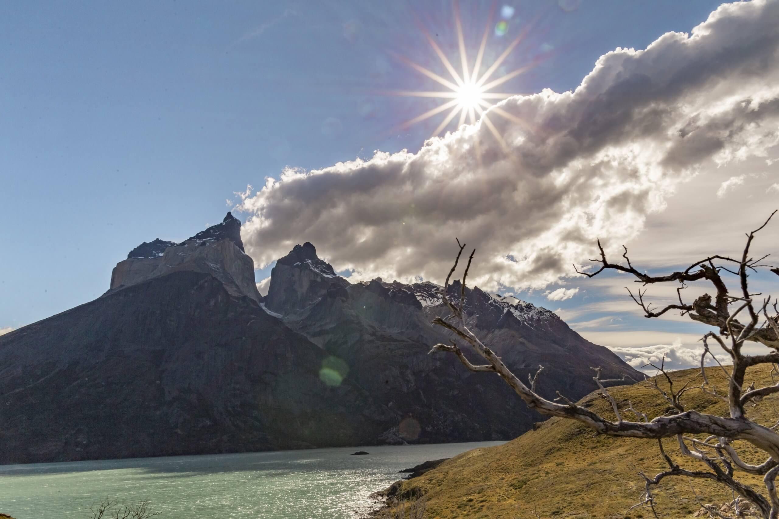 eine der schönsten Wanderungen und Aussichtspunkte im Torres del Paine Nationalpark - Mirador Cuernos